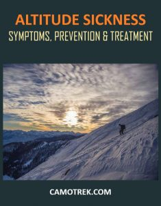 Altitude Sickness - Symptoms, Prevention, and Treatment PIN