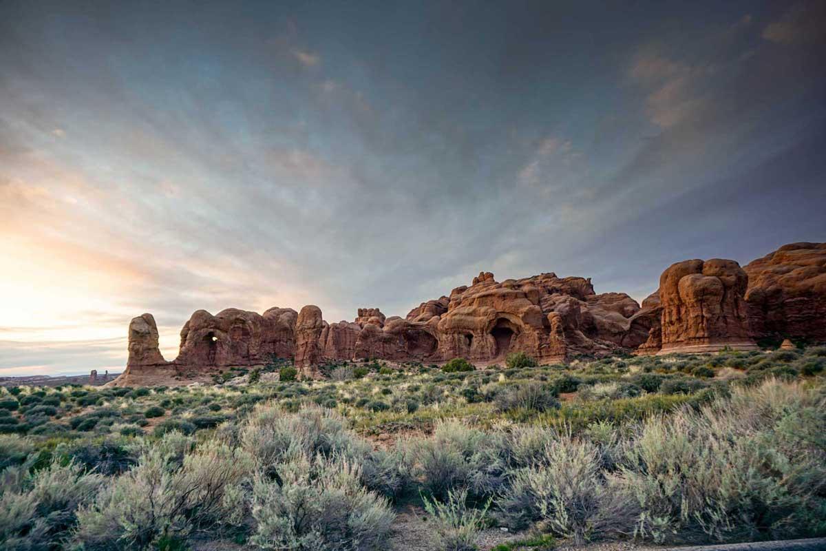Natural landscape in Arizona