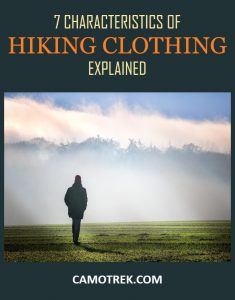 Hiking clothing traits PIN