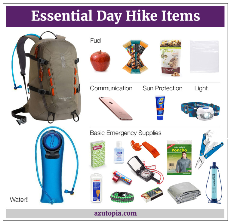 Day Hike Essentials