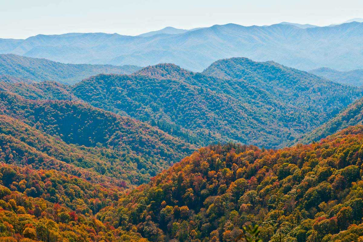 Top 10 Most Visited National Parks in the USA in 2018: Great Smoky Mountains National Park