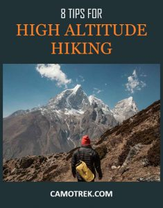 Tips for Hiking at Higher Elevations PIN