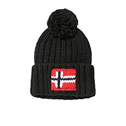 Merino wool bobble hat