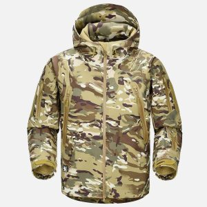 Shark Skin NG Softshell Jacket in CP Camo