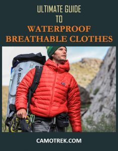 Waterproof breathable clothes PIN