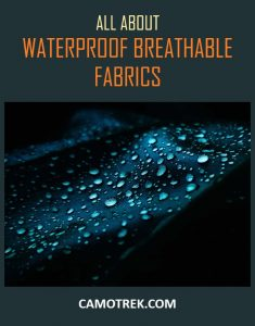 Waterproof breathable fabrics PIN