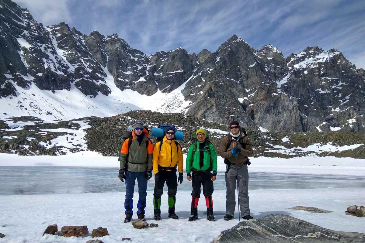 Altitude Sickness - Symptoms, Prevention, and Treatment: four climbers
