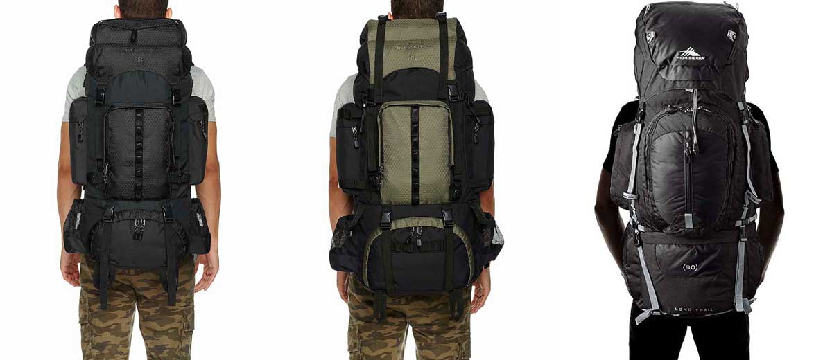 How to choose the best hiking backpack: packs comparison