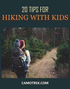 20 Tips for Backpacking with Kids PIN