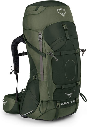 Osprey Aether 70 is the best backpack on the market