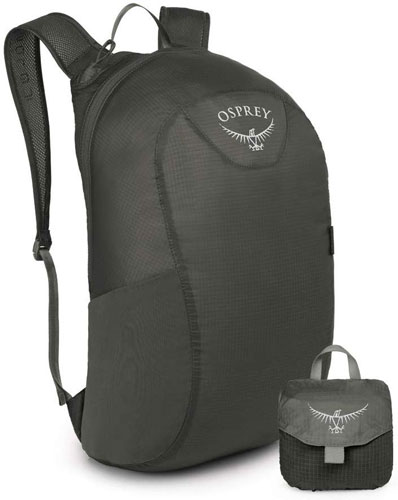 Osprey Ultralight Stuff Pack is great for wet weather hiking
