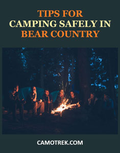 Tips for camping in bear country