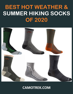 Best summer hiking socks of 2020 Pin