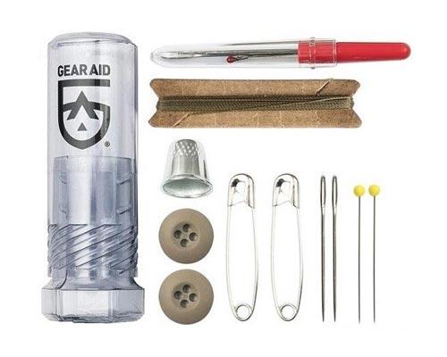 Sewing kit outdoor repair