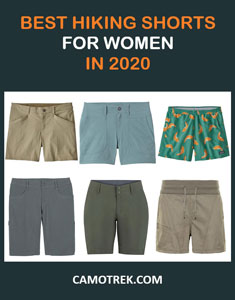 Best hiking shorts for women in 2020