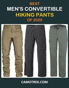 Best men's convertible hiking pants of 2020