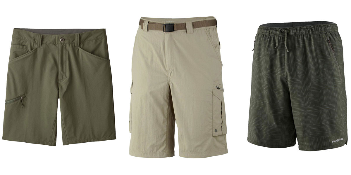 Hiking shorts styles comparison