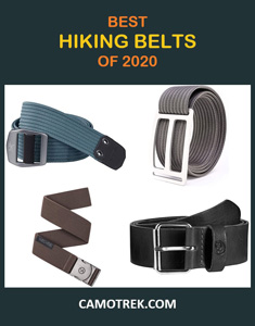 Best hiking belts of 2020