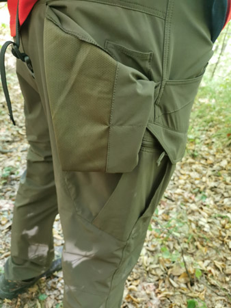 Helikon-Tex OTP Lite back pocket inside