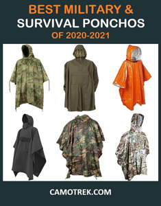 Military and survival ponchos