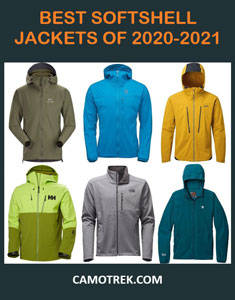 Best softshell jackets of 2020-2021 Pin