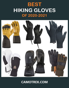 Best Hiking Gloves Pin