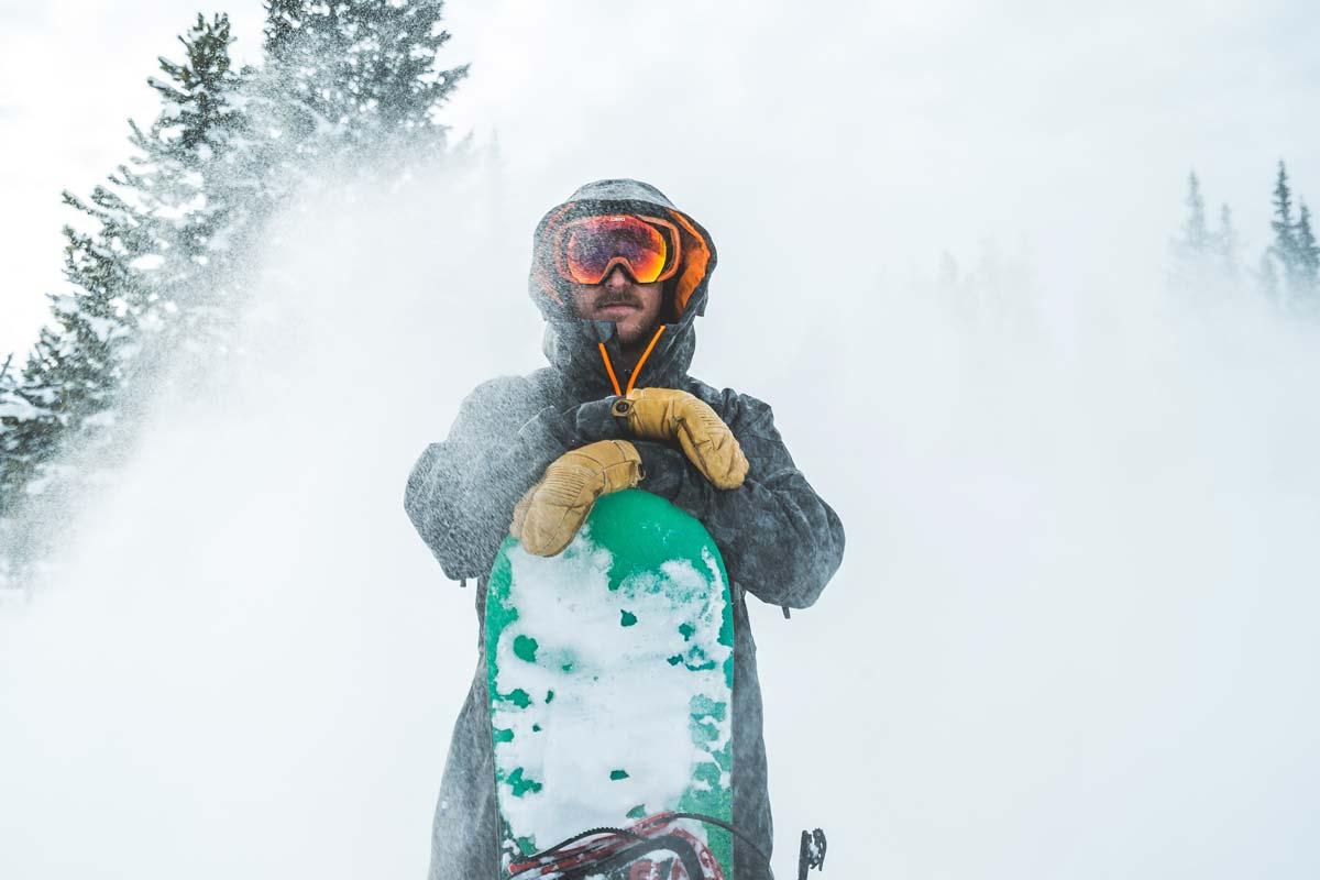 Snow sport mittens
