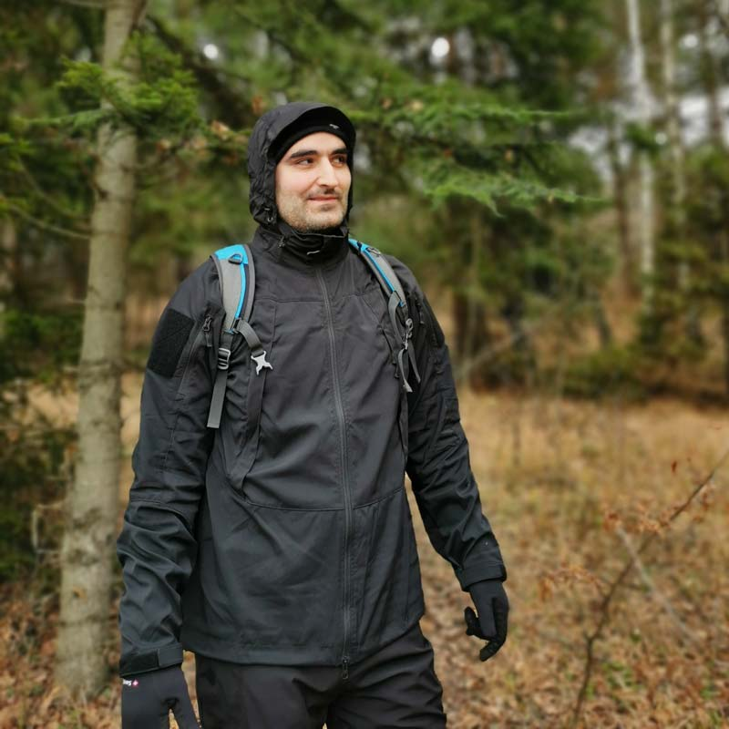 Helikon Blizzard StormStretch jacket weather protection
