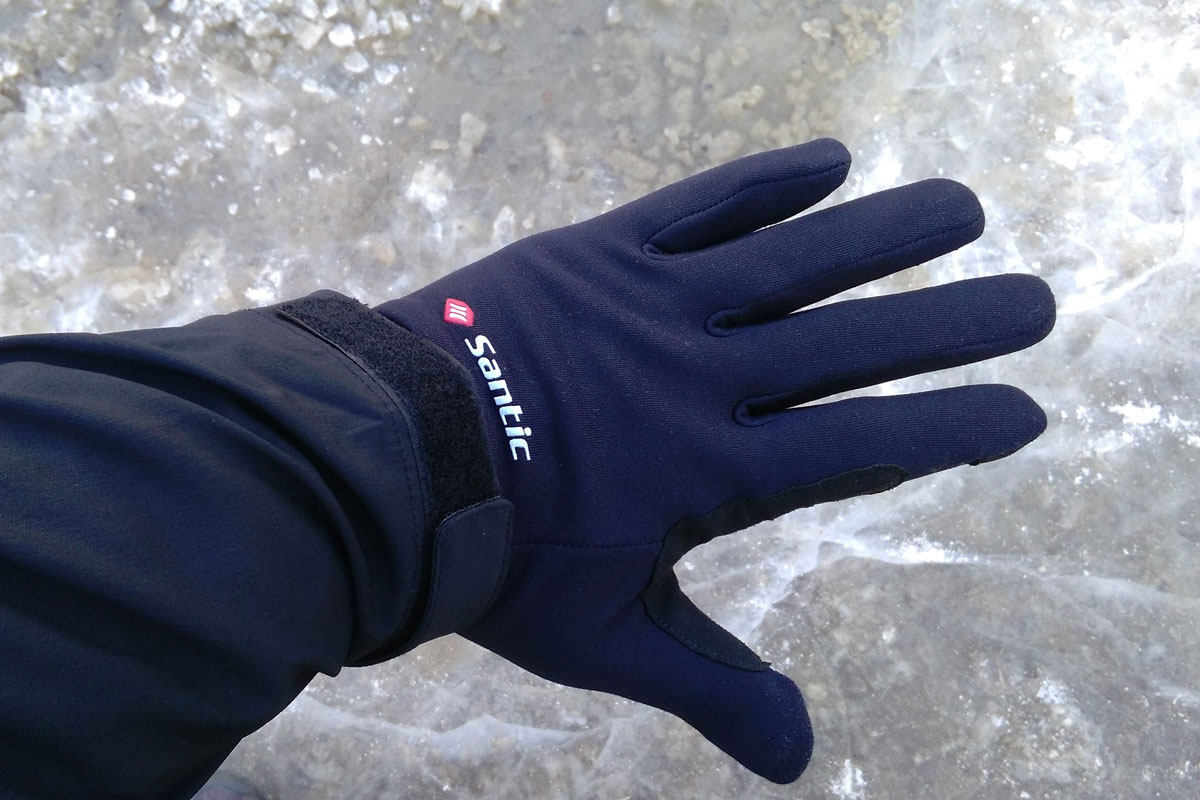 Santic Dorin Liner Gloves iced surface