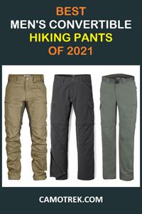 Best men's convertible hiking pants of 2021