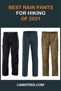Best rain pants