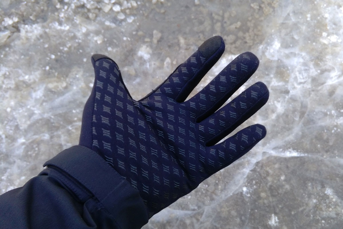 Glove liners grippy palm