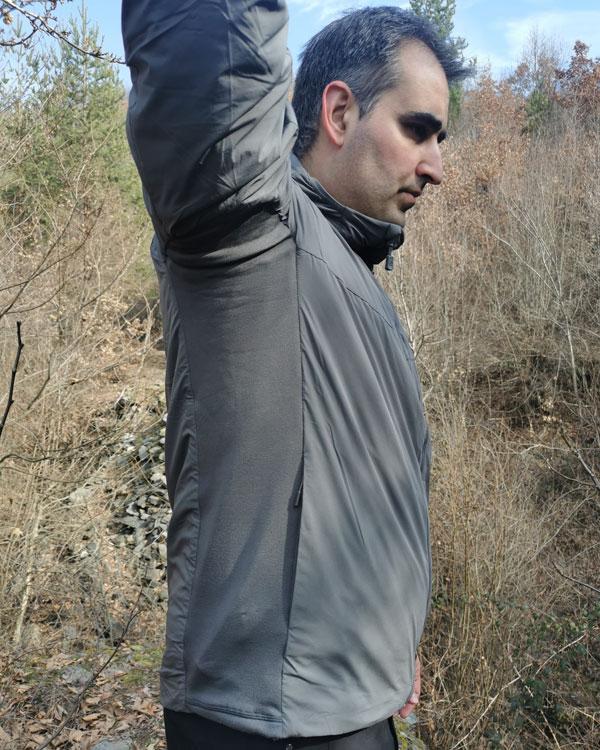 Pentagon Panthiras jacket - underarm and side panel