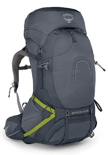 Osprey Atmos 65 backpacking pack