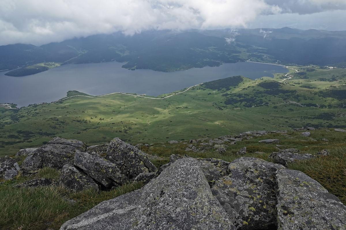 Rocky mountainous terrain