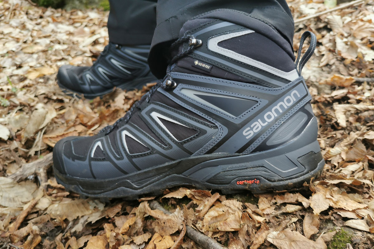 Salomon X Ultra Boots seen from the side