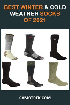 Best winter socks of 2021 Pin